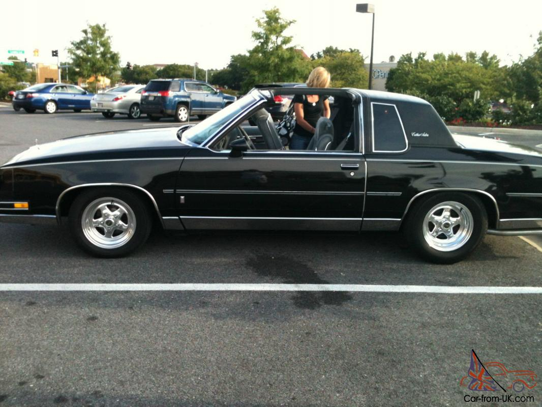 1986 cutlass salon t top v8 awesome car
