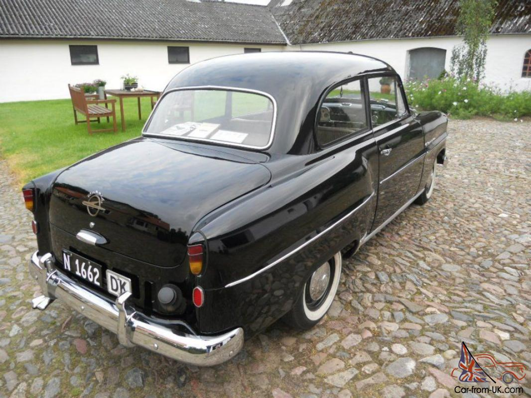 opel olympia rekord black 1953 oldtimer classic car. Black Bedroom Furniture Sets. Home Design Ideas