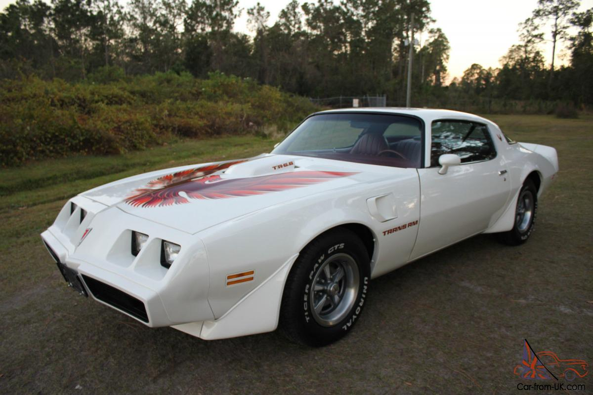 White 2014 Trans Am For Sale