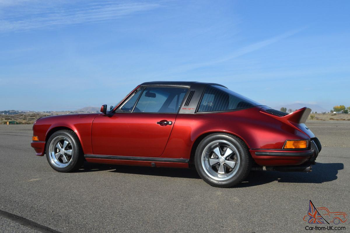 1971 porsche 911e targa sport seats very nicely done. Black Bedroom Furniture Sets. Home Design Ideas