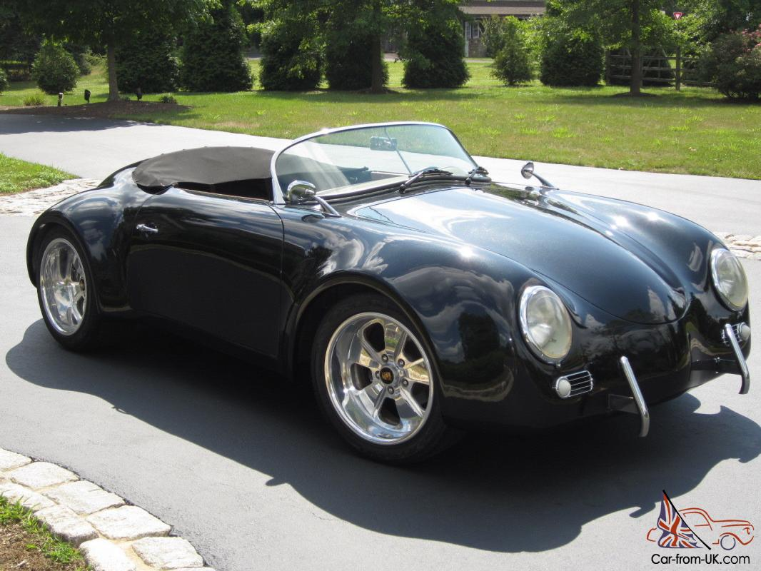 Porsche 1956 356 Gtr Wide Body Speedster Convertible