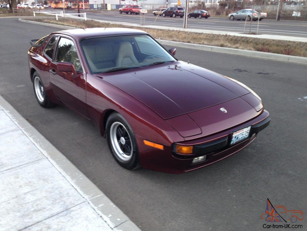1984 porsche 944 only 84 955 actual miles. Black Bedroom Furniture Sets. Home Design Ideas