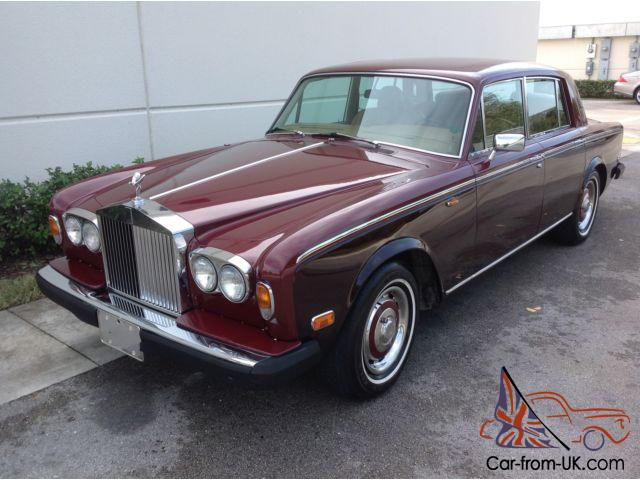 1978 rolls royce silver shadow florida car. Black Bedroom Furniture Sets. Home Design Ideas