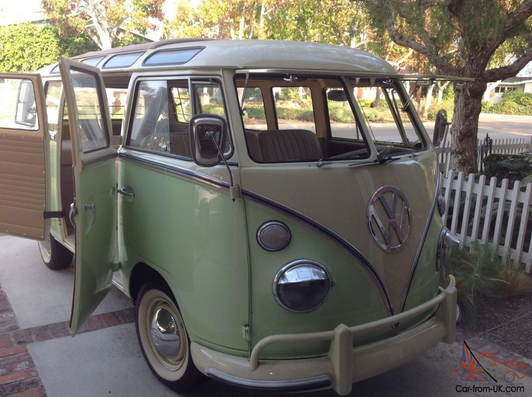 1965 21 window deluxe volkswagen bus ground up for 1965 21 window vw bus