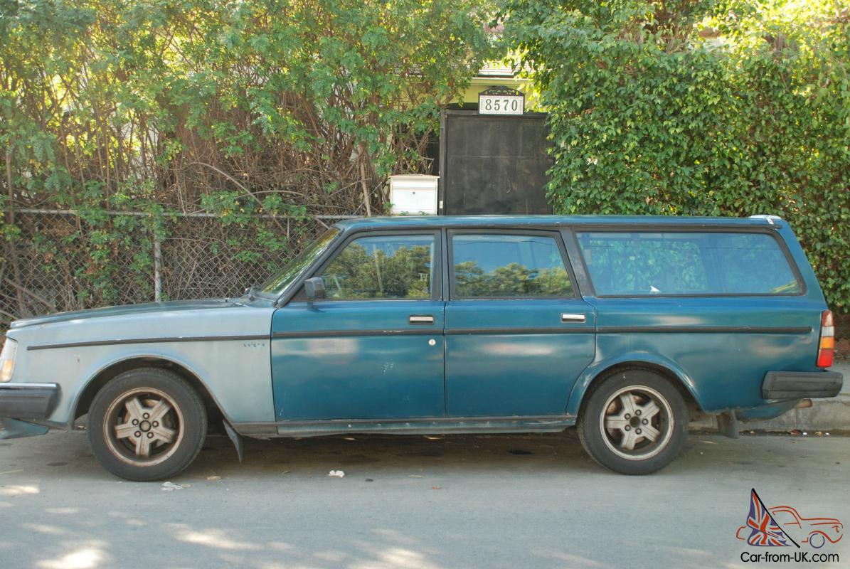 1983 volvo 240 glt turbo wagon 245 intercooler runs well. Black Bedroom Furniture Sets. Home Design Ideas