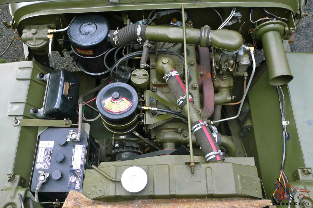 1945 Willys Mb Wwii Military Jeep Army Antique