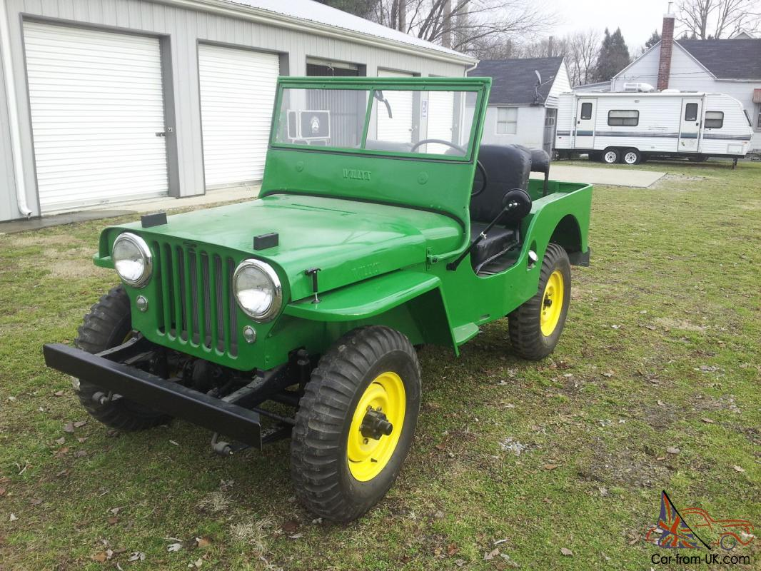 1946 willys cj2a jeep fully restored like brand new