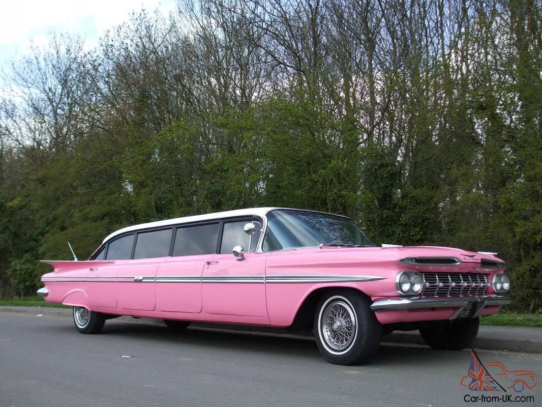 chevy impala 1959 limo once owned by willy nelson