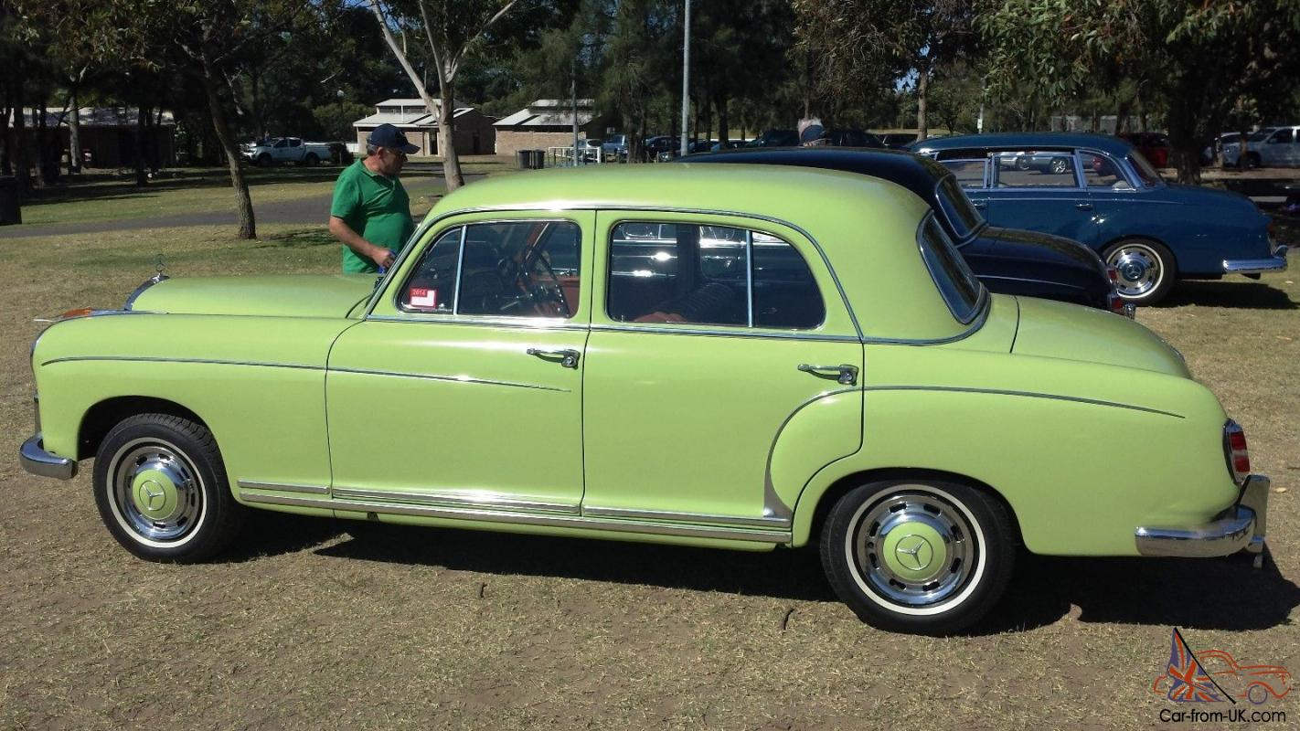 Mercedes benz 1958 ponton 220s in bankstown nsw for 1958 mercedes benz 220s for sale