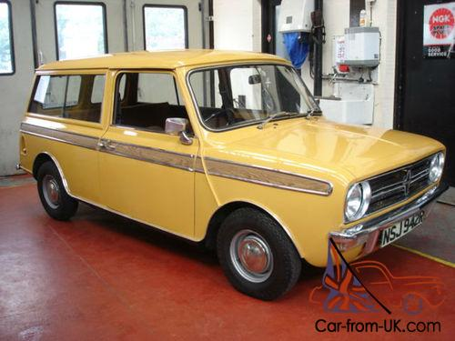 austin mini leyland cars mini clubman 1100 estate only 5 000 miles. Black Bedroom Furniture Sets. Home Design Ideas