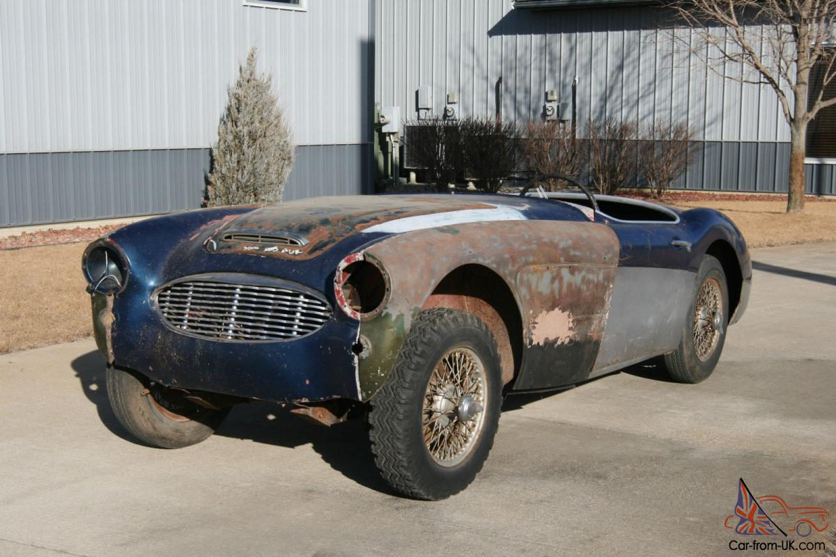 1960 austin healey 3000 mki bn7 two seater project car no reserve. Black Bedroom Furniture Sets. Home Design Ideas