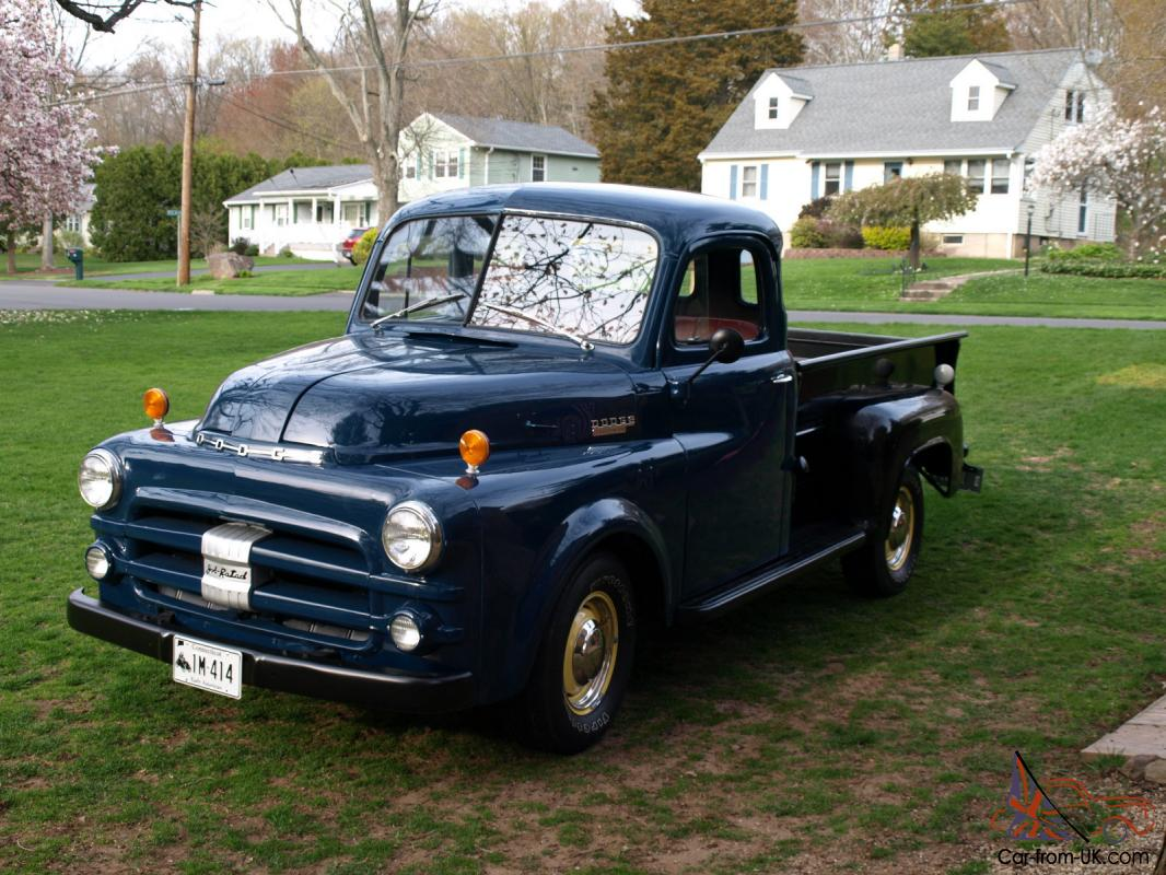 1953 dodge truck o matic pick up truck. Black Bedroom Furniture Sets. Home Design Ideas