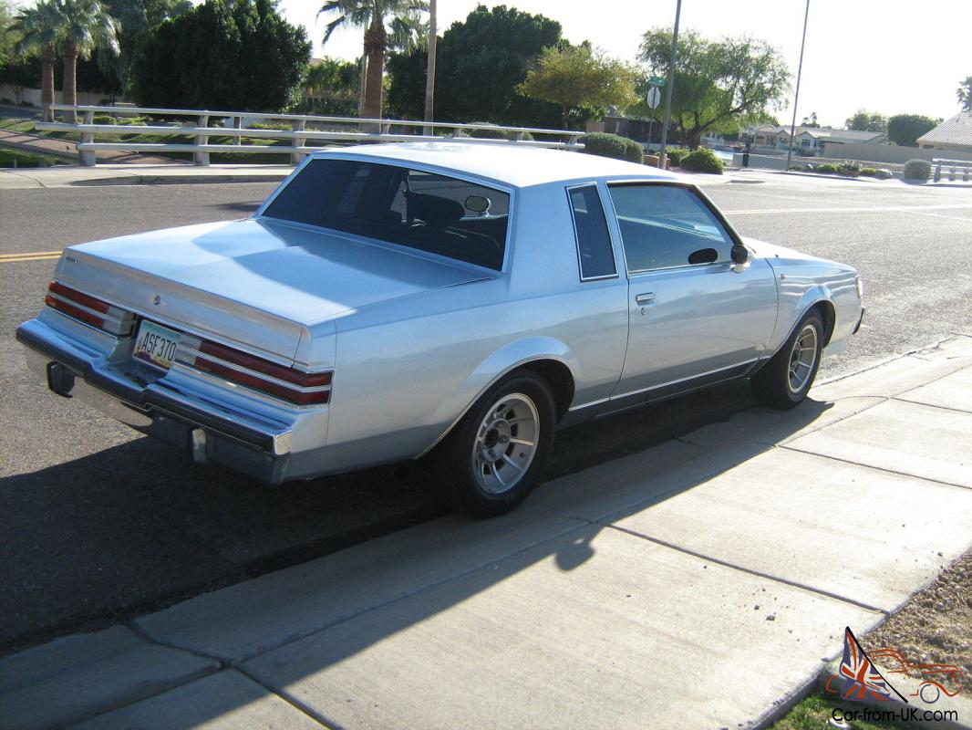 1985 type t buick regal for autos post. Black Bedroom Furniture Sets. Home Design Ideas