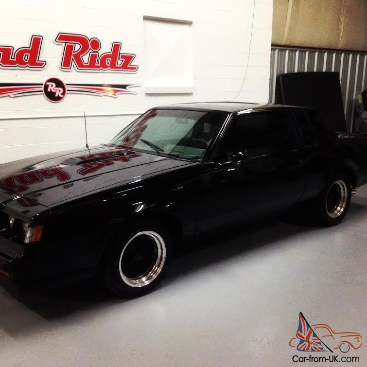 1987 Buick Regal For Sale: WE2 1987 BUICK GRAND NATIONAL 1 OF 1600 WITH ASTRO ROOF 1