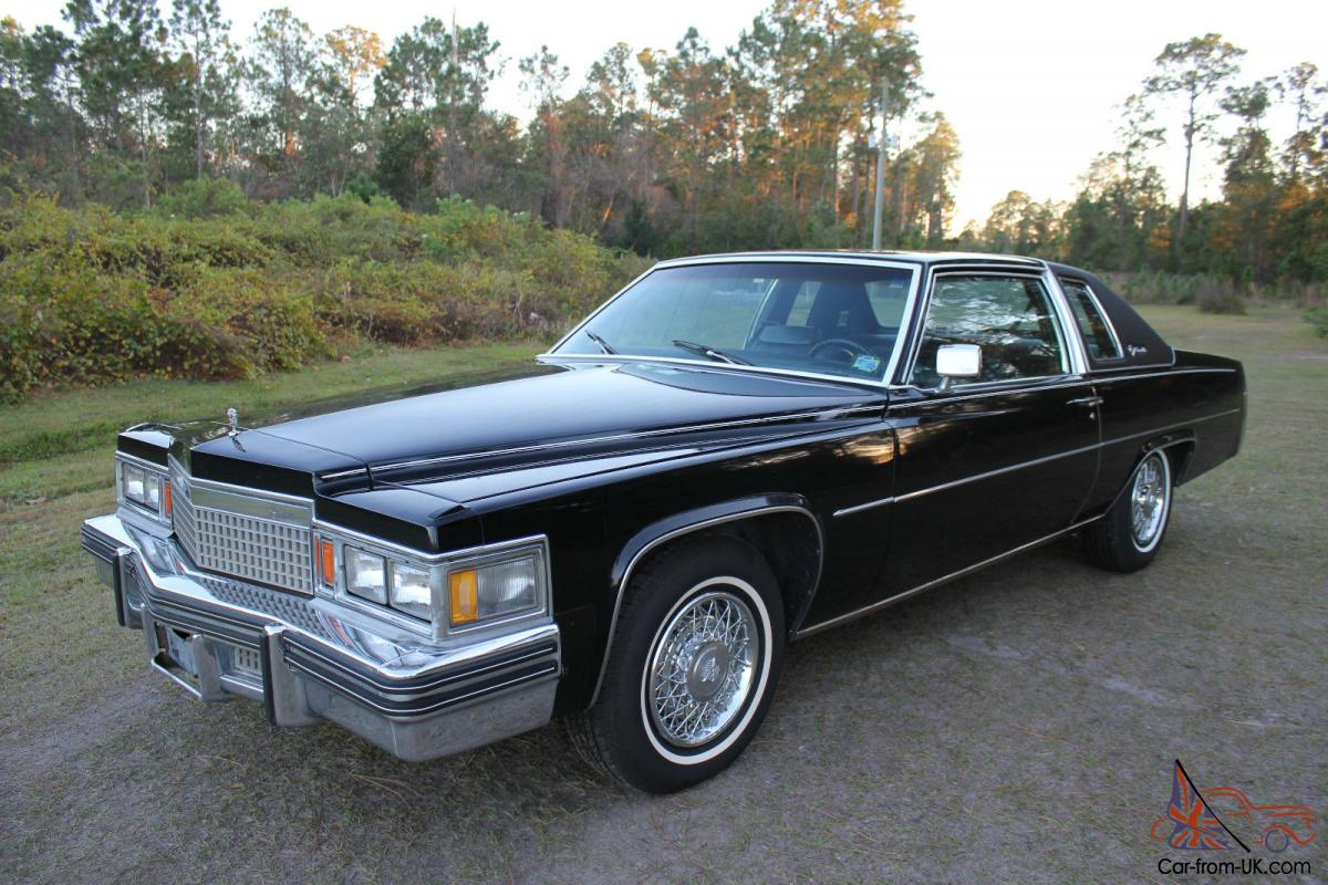 1979 Cadillac DeVille Coupe 7.0L 425 ORIGINAL 62k Miles Call NOW