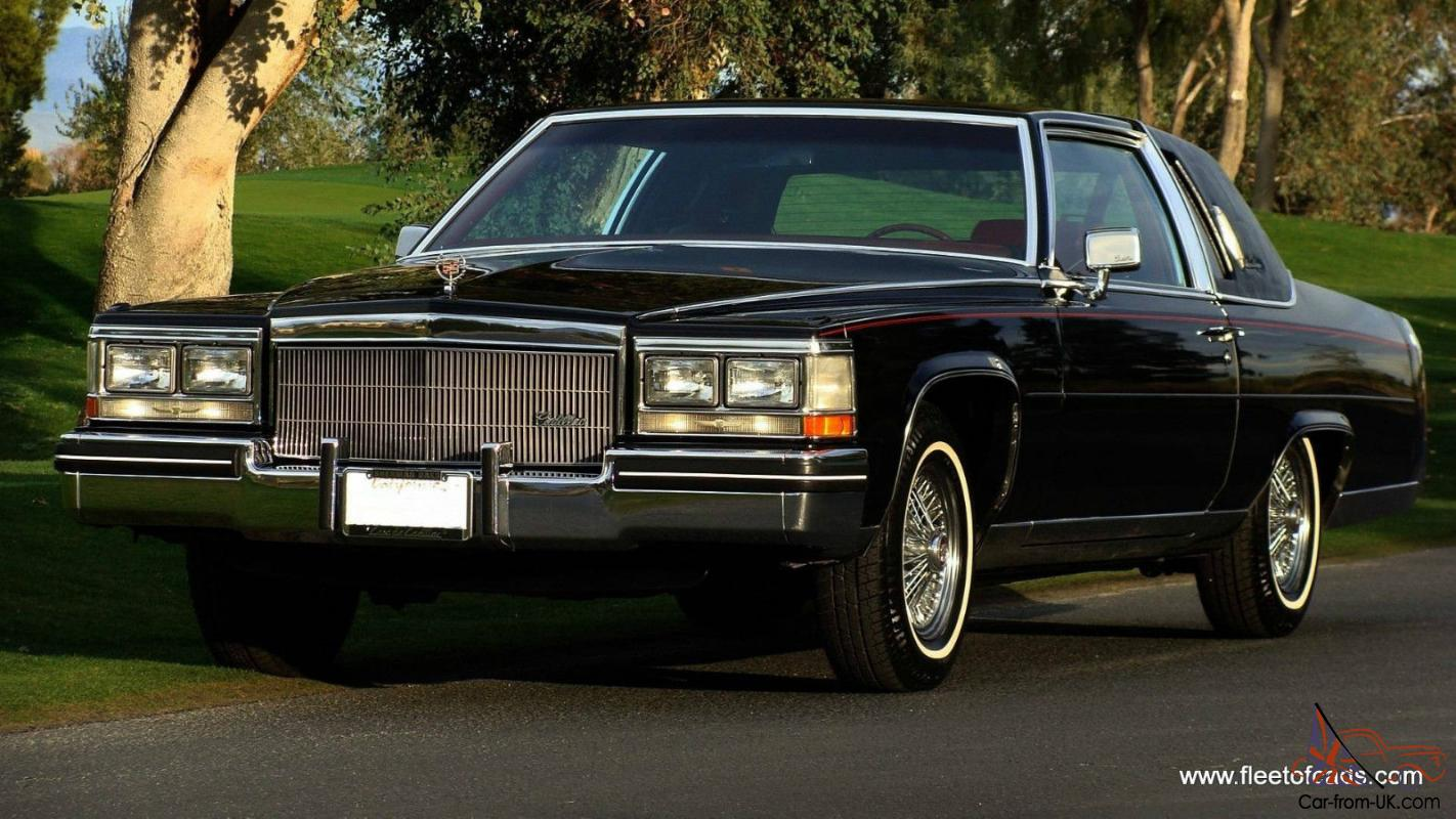 1984 Cadillac Fleetwood Brougham Coupe 39k Miles Collector