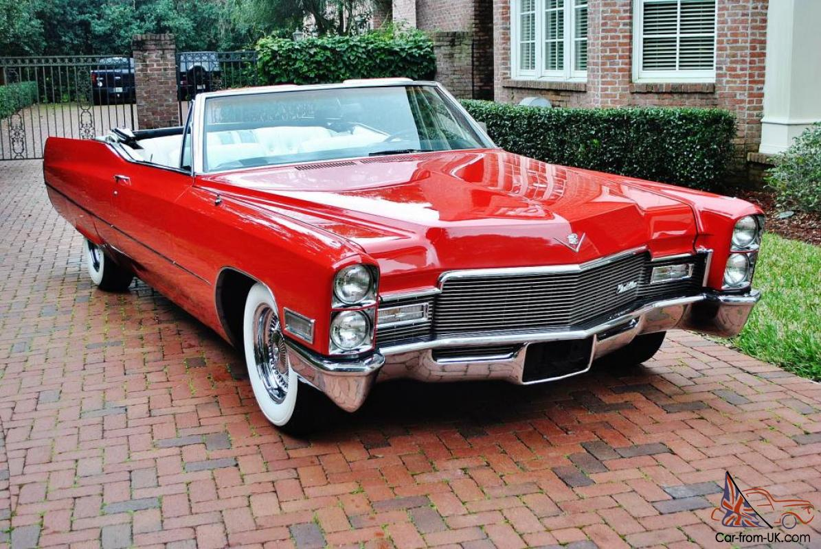 wow what and amazing 1968 cadillac deville convertible. Black Bedroom Furniture Sets. Home Design Ideas