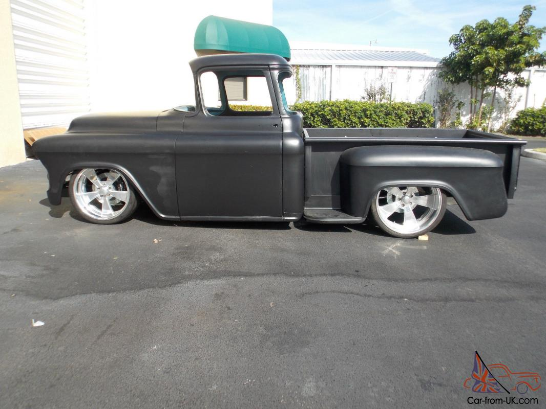 1956 chevy truck project truck for sale ebay autos post. Black Bedroom Furniture Sets. Home Design Ideas