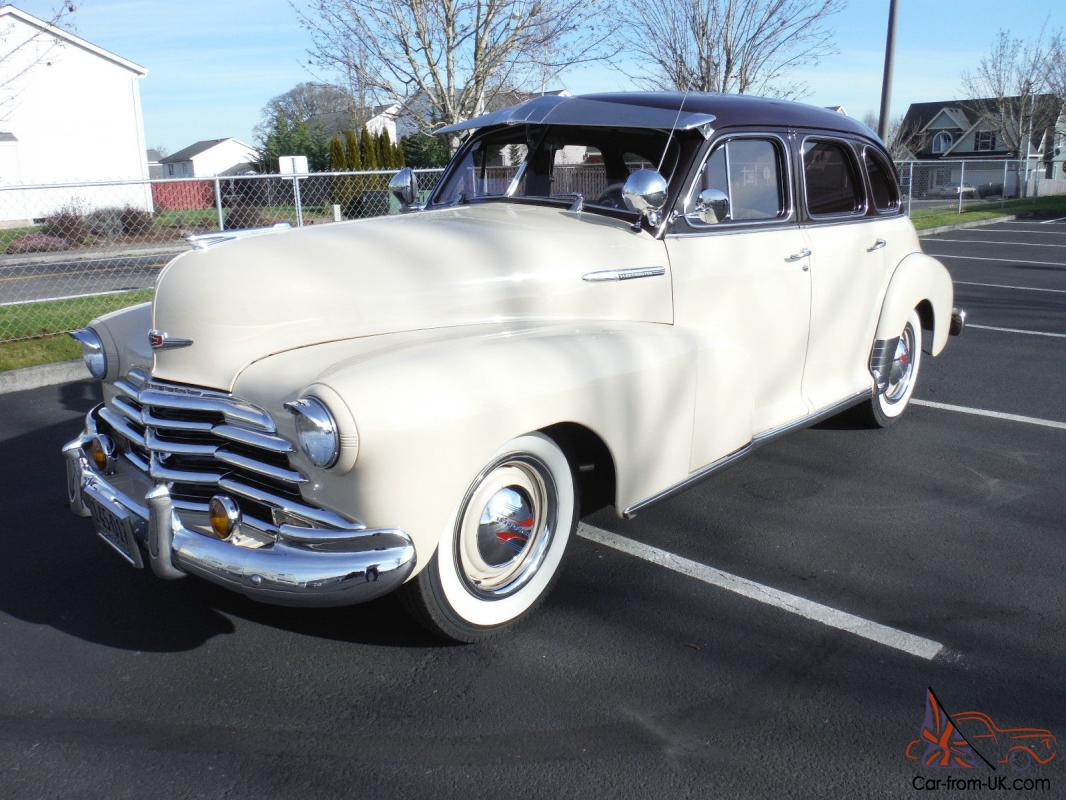 1947 chevrolet 4 door fleetmaster