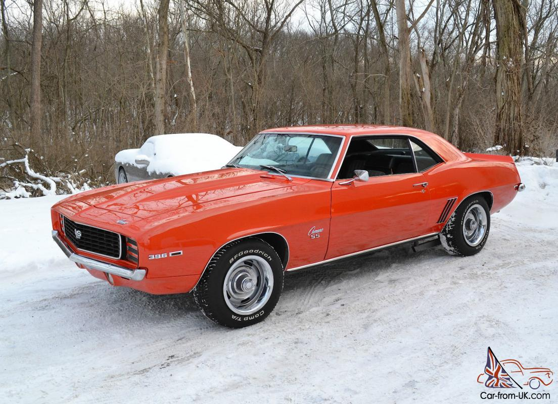 Camaro 1969 Rs Ss Hugger Orange For Sale Autos Post