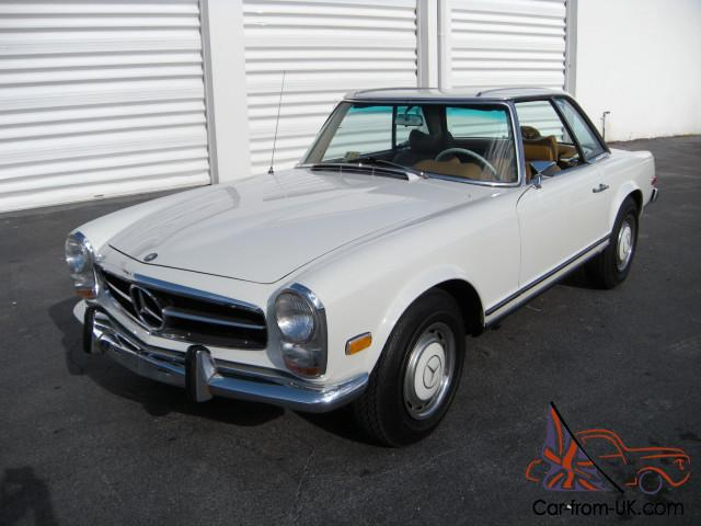1969 mercedes benz 280sl w113 zf 5 speed very rare manual for Mercedes benz manual transmission for sale