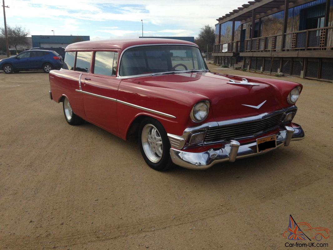 1955 chevrolet handyman 2 door wagon street rod - 1956 Chevrolet 150 2 Door Wagon