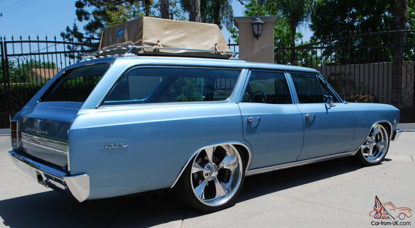 1966 Chevy Chevelle Malibu Station Wagon Hot Rod