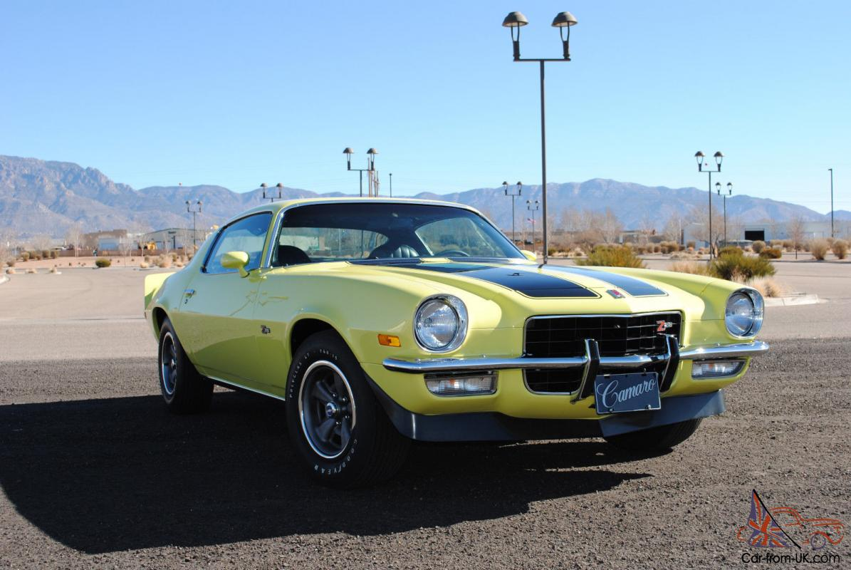 1973 chevrolet camaro z28 - photo #21