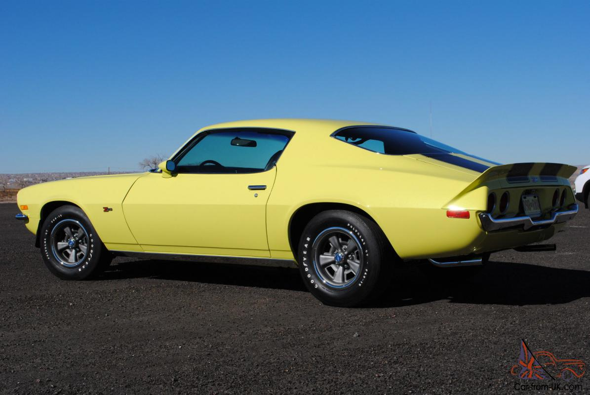 1973 chevrolet camaro z28 - photo #5