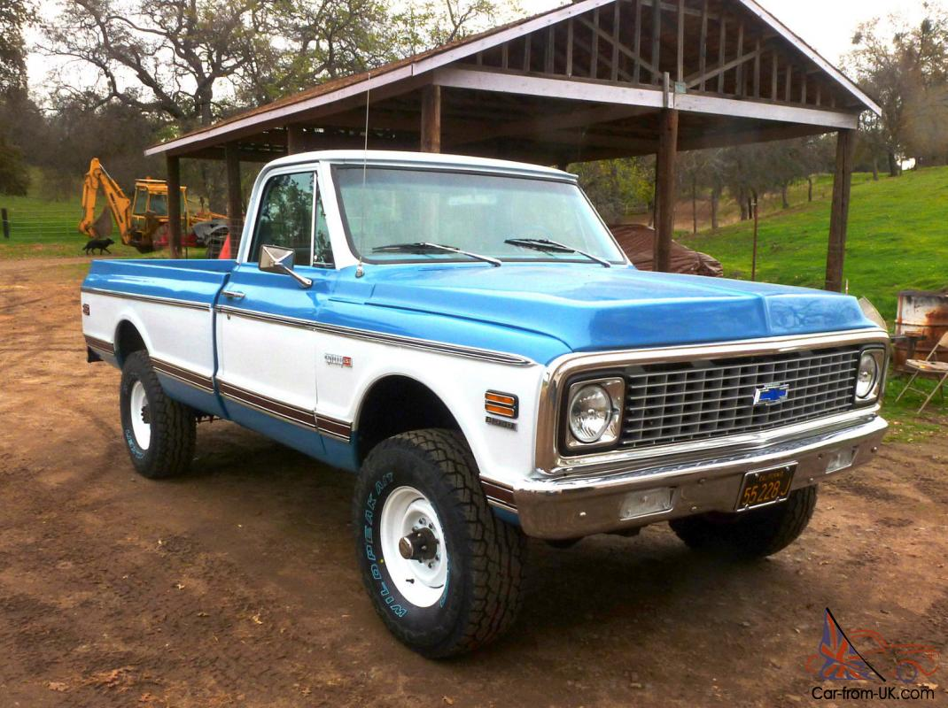 1971 chevy 4x4 for sale