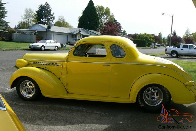 1937 Dodge Coupe Street Rod Project Car For Sale: 1937 Dodge Coupe Pro Street 402 Chevy Big Block Street