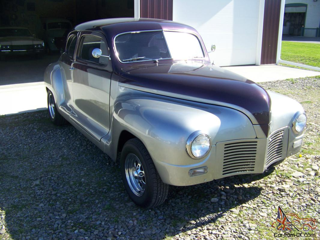 1947 plymouth coupe streetrod for 1947 plymouth 2 door coupe