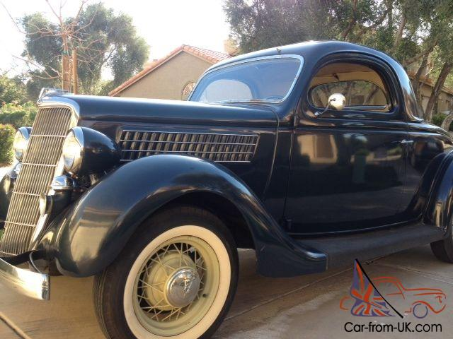 Original 1935 ford 3 window coupe for 1935 ford 3 window
