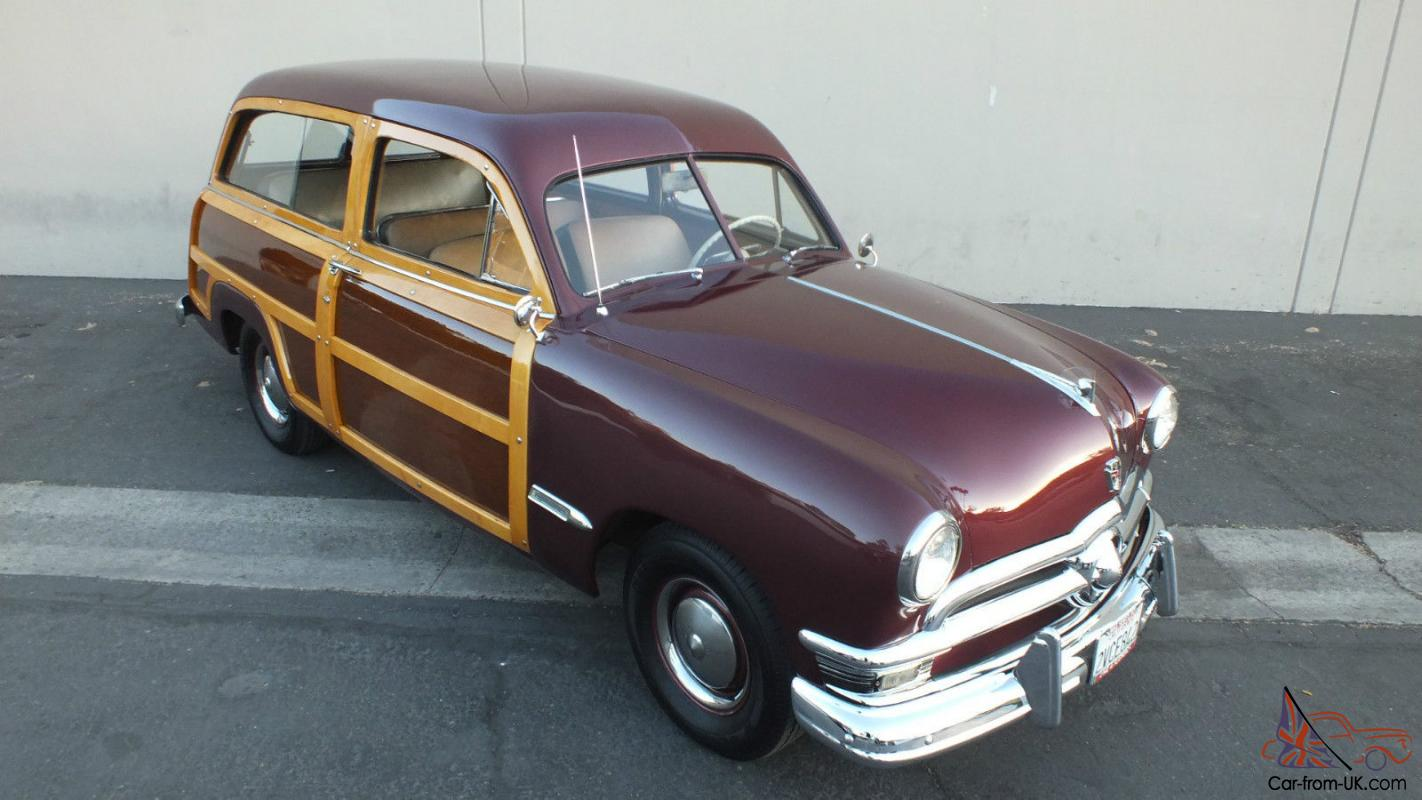 1950 FORD WOODIE WOODY WAGON
