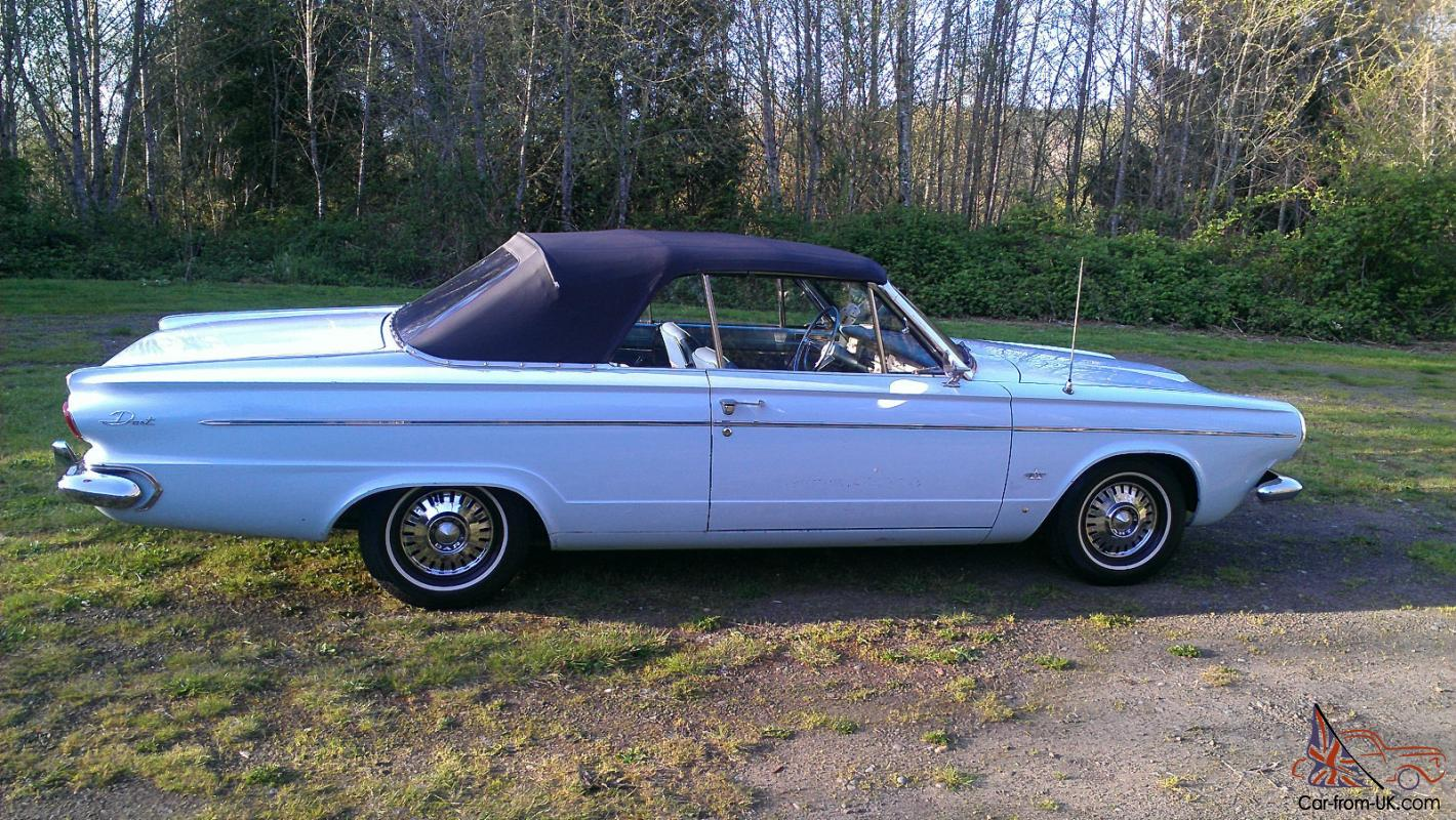 Dodge dart convertible 1963 dodge dart convertible sciox Images