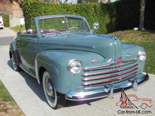 1946 ford super deluxe convertible correct restoration. Black Bedroom Furniture Sets. Home Design Ideas