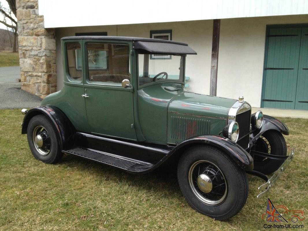 1927 Ford Model T Coupe Resto Rod