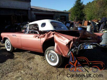 1957 Ford T-Bird - Genuine Car - Great Restoration Project! Conv with hard top!