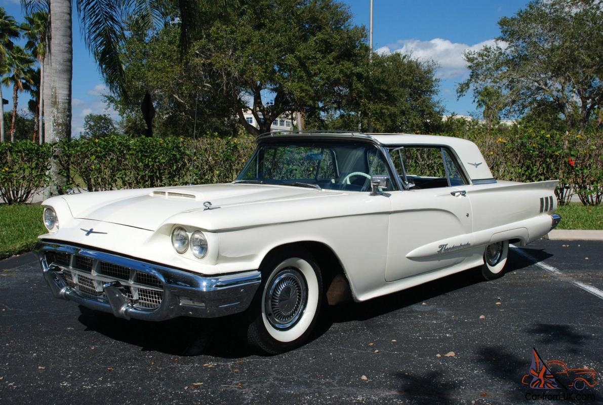 1960 ford thunderbird w factory sun roof and 390 v8. Cars Review. Best American Auto & Cars Review