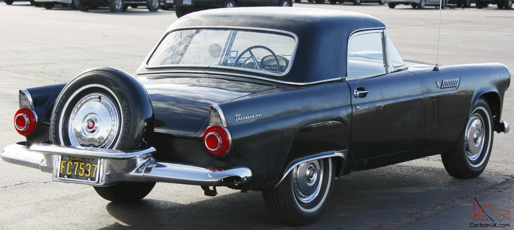 1956 Ford T Bird With Removable Hard Top