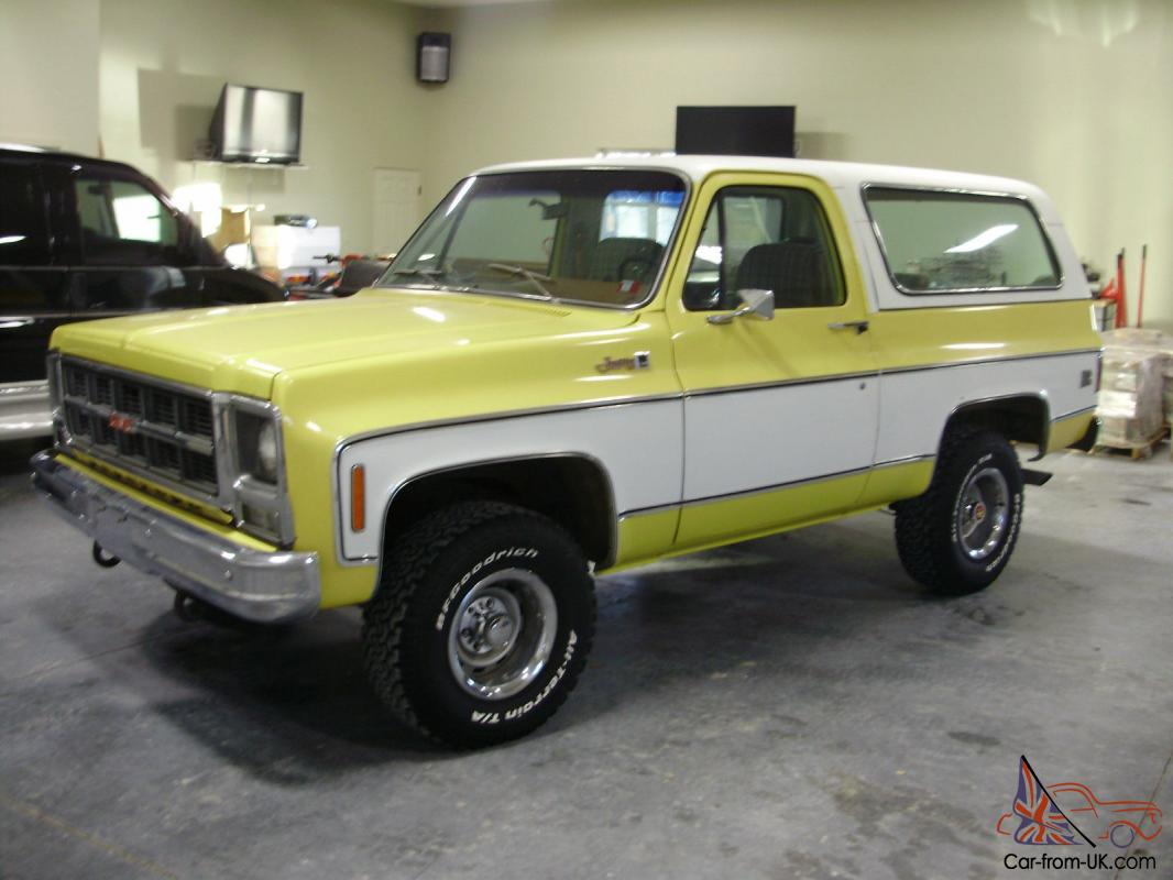 1979 GMC Jimmy **66,548 original miles**