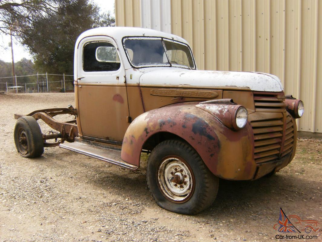 Vintage Antique 1941 46 Gmc Chevy Pickup 3 4 Restore Hot Rod Rat Mercury Pick Up Check Pic