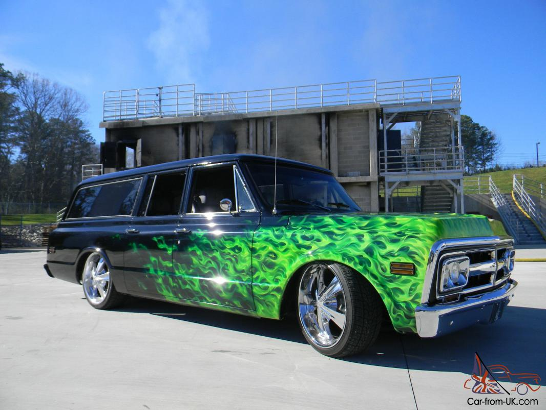 West Coast Customs Cars For Sale >> 1969 Gmc Suburban Custom Built By West Coast Customs