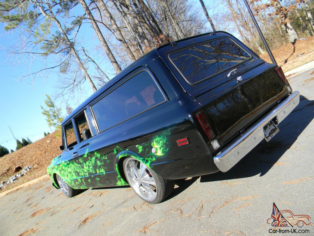 1969 GMC Suburban Custom Built by West Coast Customs