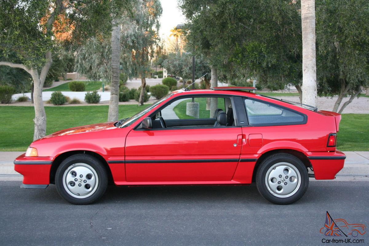 1987 honda crx si excellent condition only 77k original miles. Black Bedroom Furniture Sets. Home Design Ideas