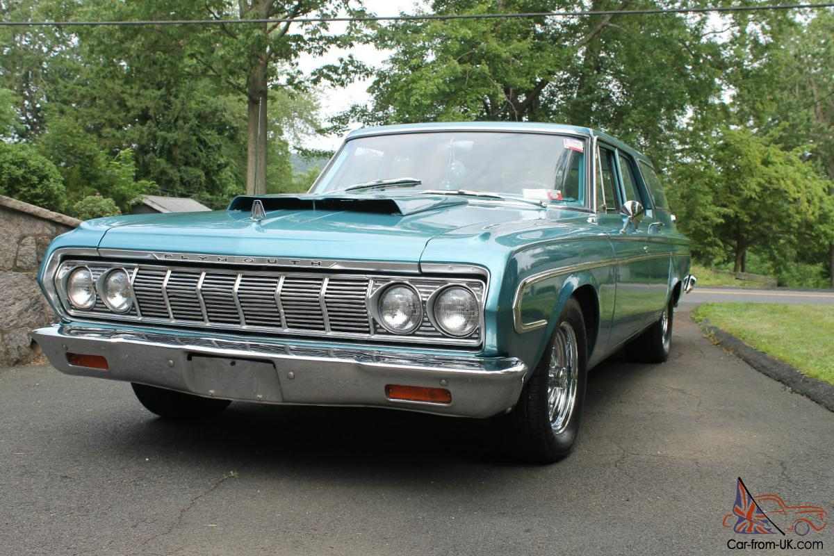 1964 Plymouth Belvedere station wagon