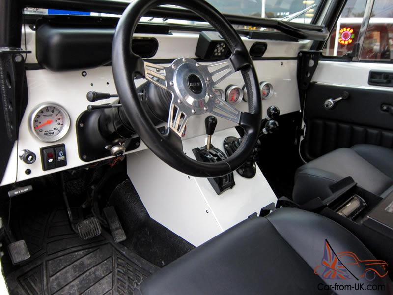 1985 jeep wrangler cj7 custom 4k miles corvette engine for Motor lift for sale