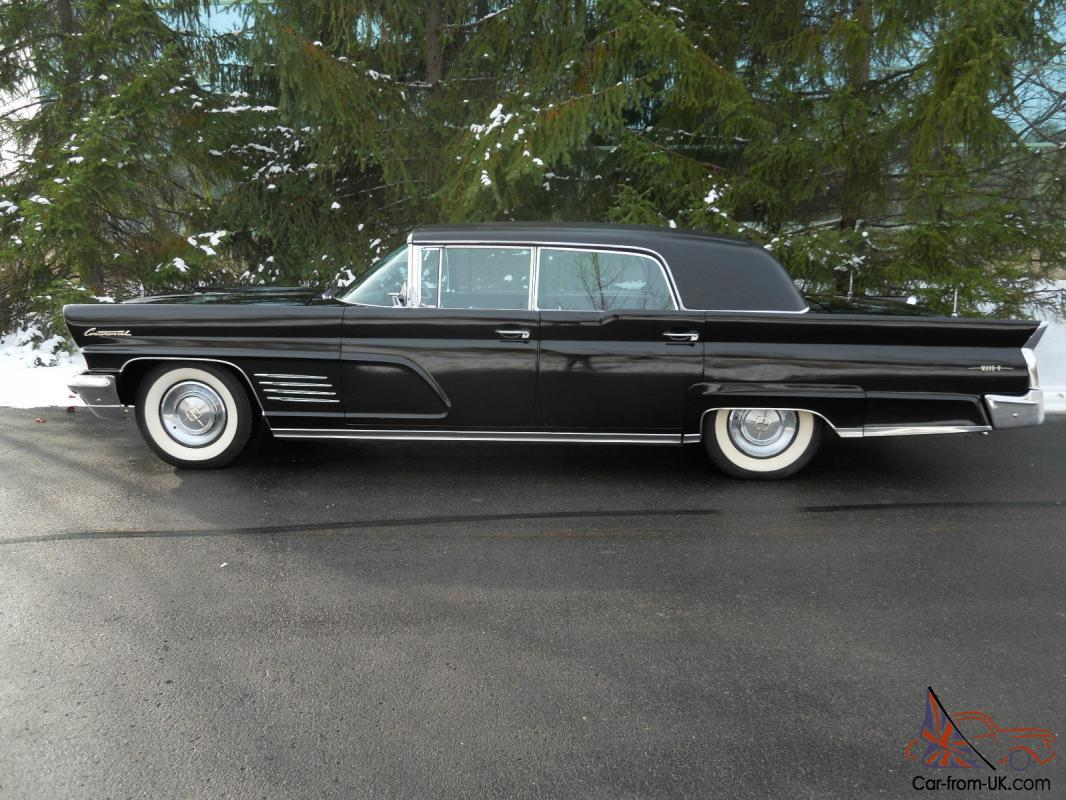 1960 lincoln continental limousine very rare 1of 34 built. Black Bedroom Furniture Sets. Home Design Ideas