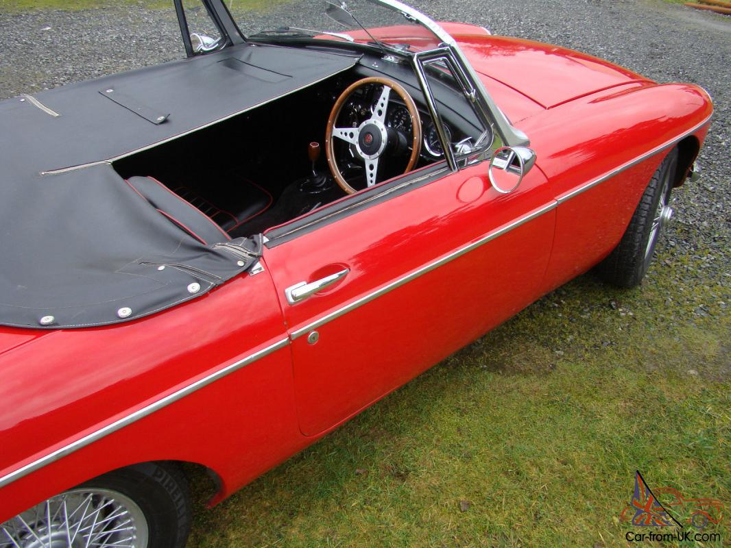 1963 mgb convertible right hand drive mgb mk1 rare rhd. Black Bedroom Furniture Sets. Home Design Ideas
