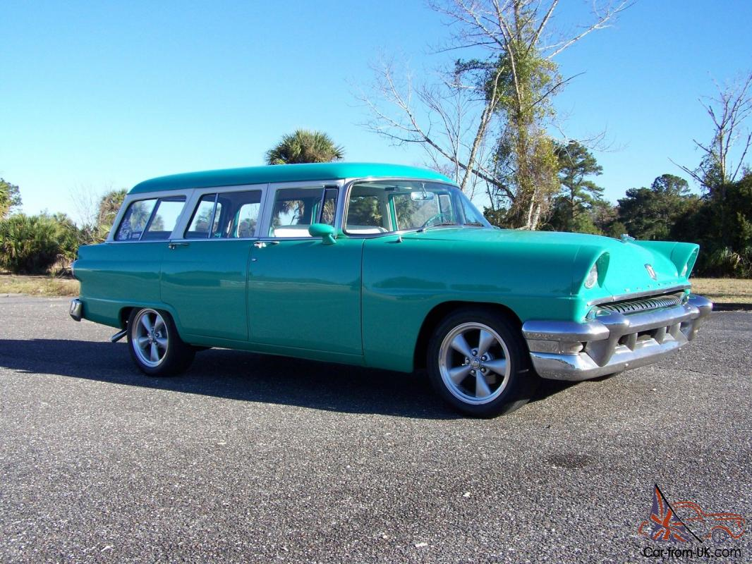 1955 Mercury Monterey Station Wagon Hot Rod Surf Wagon Rat